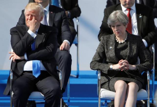 Трамп отказался встречаться с Мэй на G7, сообщили СМИ