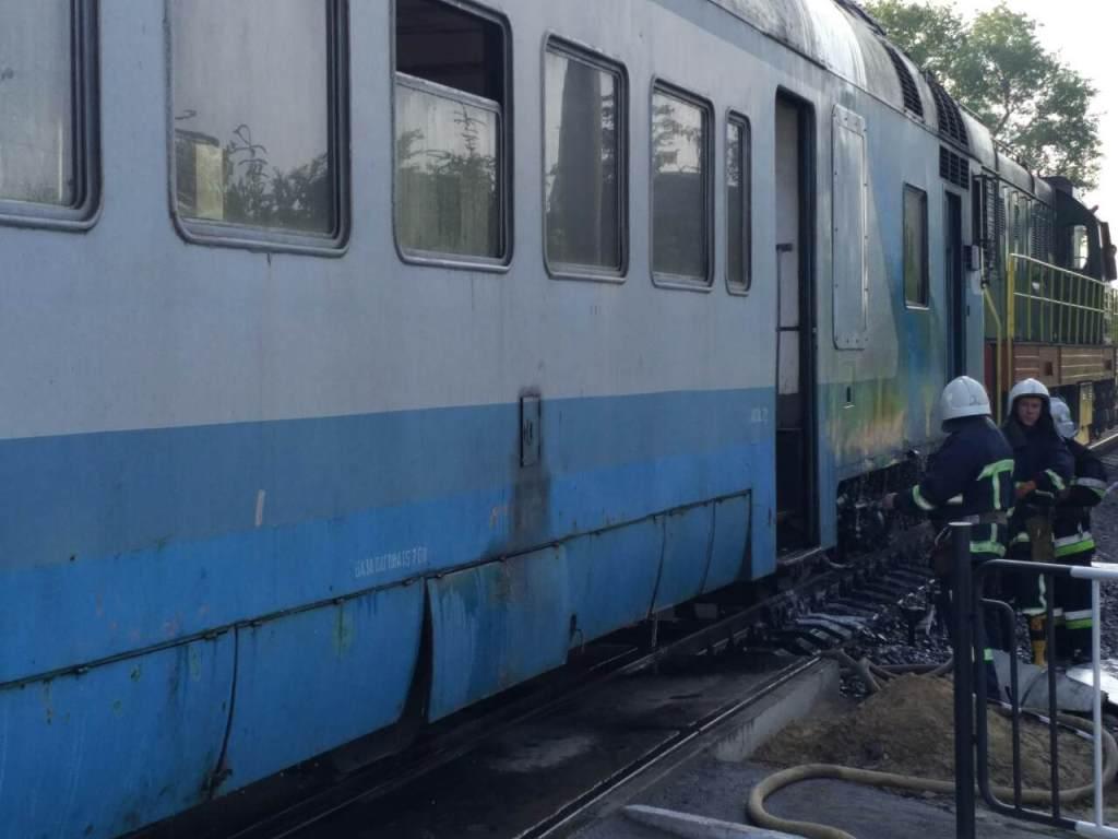 ВЧерновицкой области случилось задымление ввагоне поезда