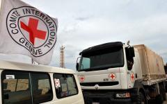 Красный крест отправил на оккупированную территорию Донбасса 13 фур с помощью