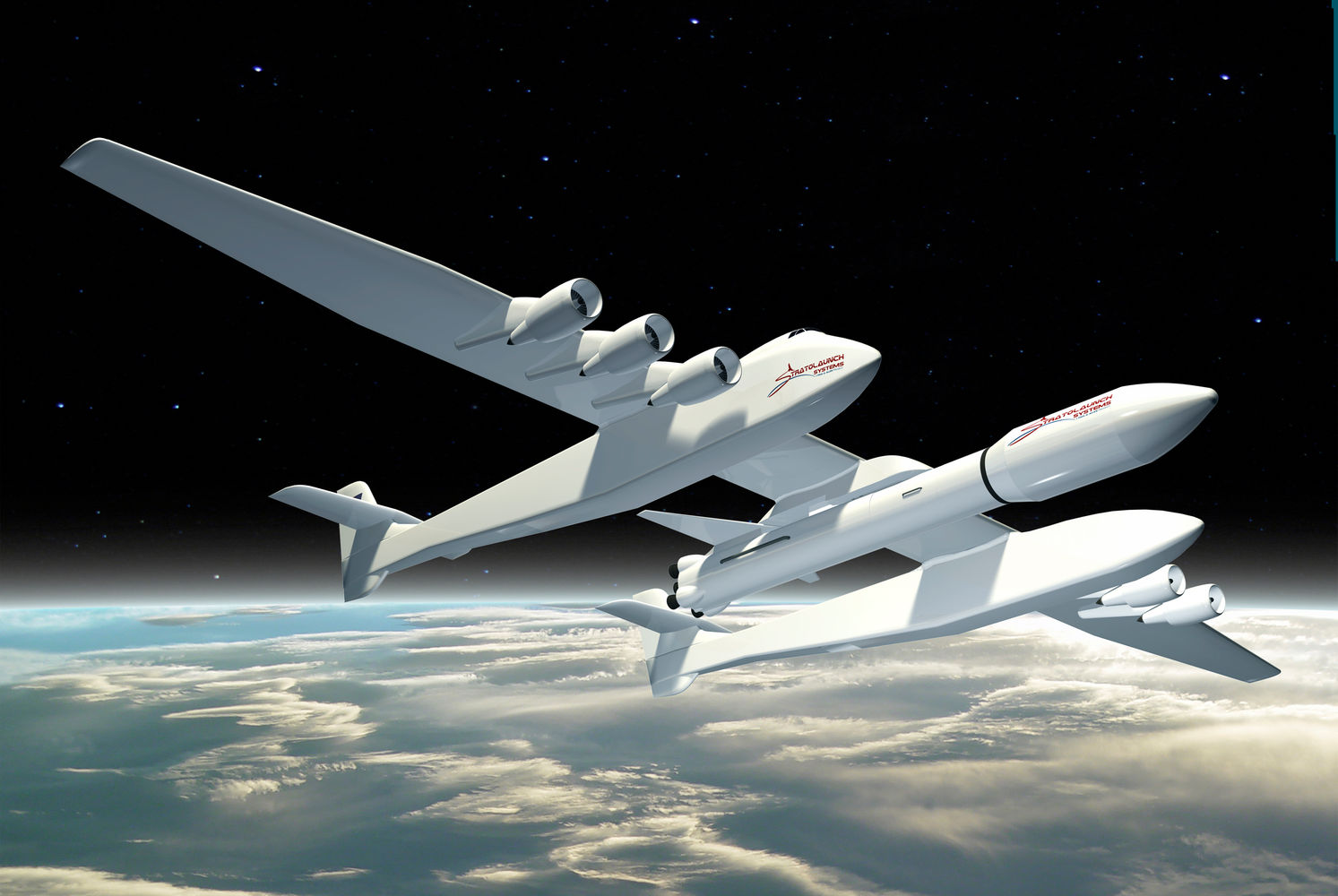 Літак Stratolaunch. Фото: Stratolaunch Systems Corp