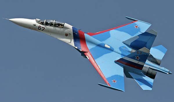 Российский истребитель перехватил над Черным морем разведывательный самолет США