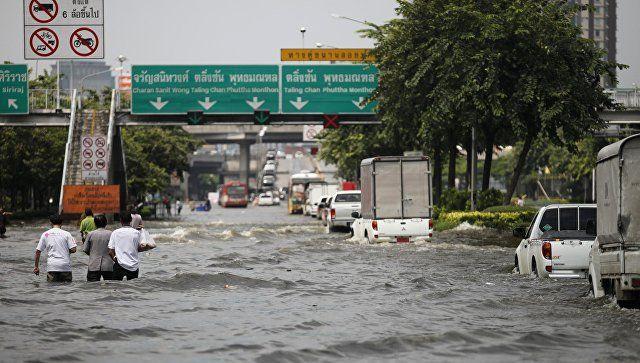 Вюжном Таиланде жертвами наводнения стали шесть человек