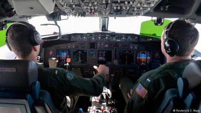 Военный самолет США совершил полет вблизи аннексированного Крыма