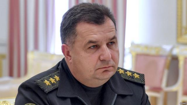 Хищение вМинобороны на149 млн: Полторак отказался отстранить подозреваемого чиновника