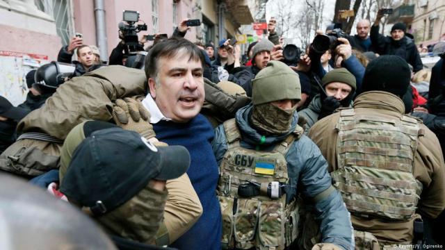 Представительство европейского союза отреагировало назадержание Саакашвили