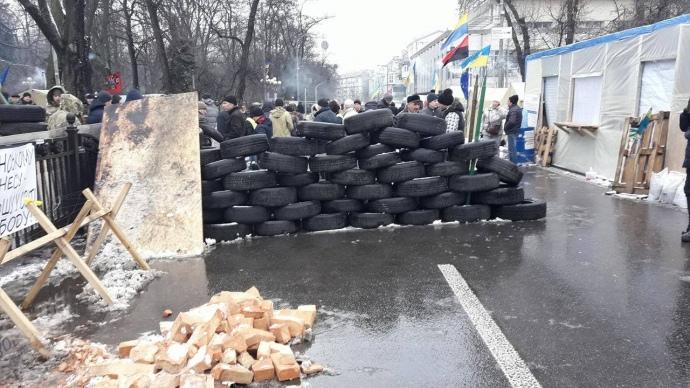 Саакашвили призывает украинцев собраться наМайдане через неделю