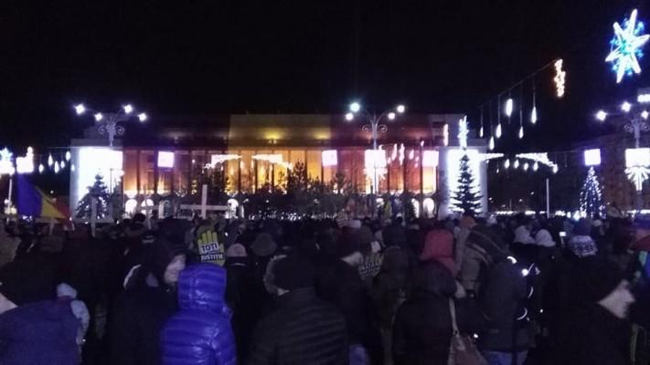 ВРумынии продолжаются протесты против коррупции