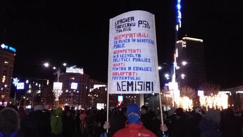 ВРумынии прошли протесты против правительственной реформы