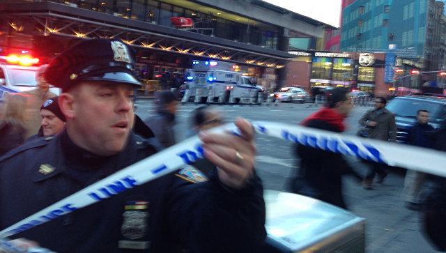 Вцентре Нью-Йорка произошел взрыв