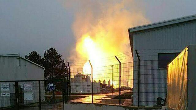 «Укртрансгаз» сократил поставки газа вСловакию после взрыва вАвстрии
