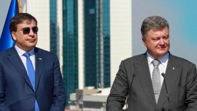 Саакашвили объявил онеобходимости договориться сПорошенко