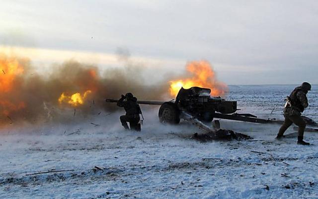 Эскалация наДонбассе: боевики применили тяжелую артиллерию, есть жертвы среди бойцов ВСУ