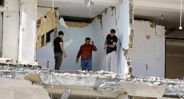 ВИране вновь случилось  землетрясение