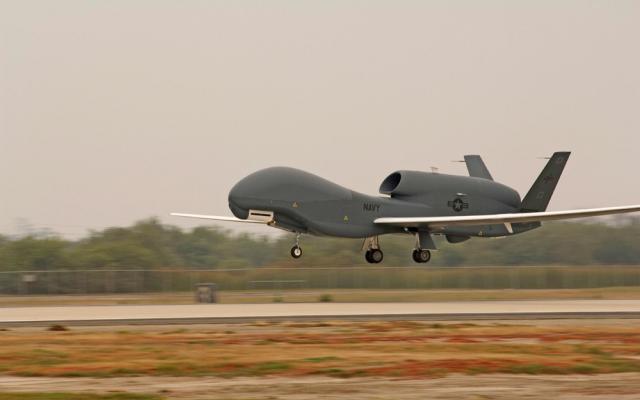 Американский беспилотник провел воздушную разведку улинии соприкосновения вДонбассе