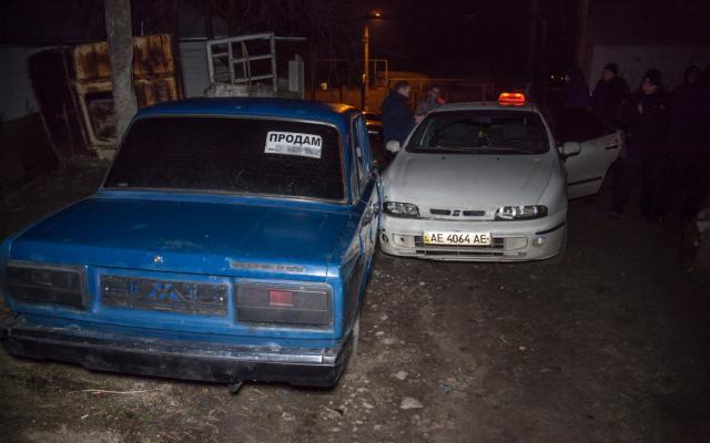 ВДнепре напали натаксиста иугнали его авто— Ночная погоня