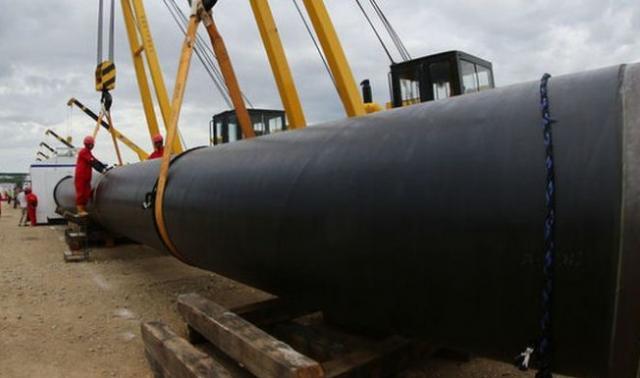 Авдеевский газопровод навсе 100% готов киспытаниям