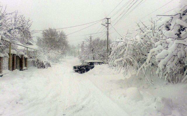 Наюге Одесской области бушует сильный шторм