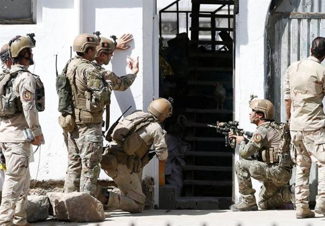 Вооруженные люди напали наотель «Интерконтиненталь» вКабуле